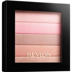 Blush Revlon Highlighting Palette Rose Glow por R$23,99