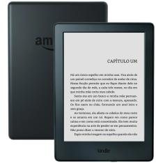 E-Reader Kindle 8ª Geração Tela Sensível ao Toque, Wi-Fi, Preto por R$197