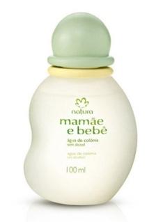 Água de Colônia mamãe e bebê sem alcool 100 ml - R$33