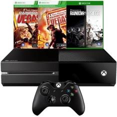 Console Xbox One 1TB + 3 Jogos - R$1.360