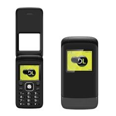 Celular DL YC-230 Flip Dual Chip - R$79