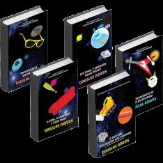 Kit Livros - Coleção O Guia do Mochileiro das Galáxias - Edição Econômica (5 Volumes)