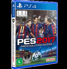 [1x Cartão Americanas + Cupom] Game - Pro Evolution Soccer 2017 - PS4