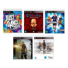 Kit 5 Jogos para Playstation 3