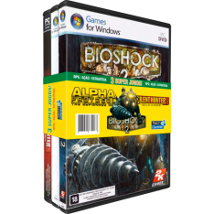 Games for Windows: Alpha Protocol/ Bioshock 2/ Silent Hunter 5 - PC - R$5