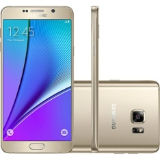 Samsung Galaxy Note 5 Tela 5.7 32GB Dourado