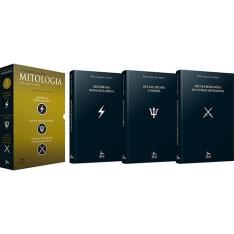 70% na BOX de Livro - Box O Essencial Mitologia 3 Volumes - R$15
