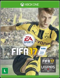 Game - FIFA 17 - XBOX One por R$ 145,72 - Frete Grátis!
