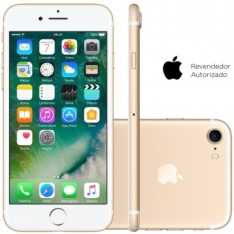 Smartphone Apple iPhone 7 128GB Desbloqueado Dourado por R$ 3100