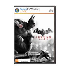 Batman: Arkham City - PC (MÍDIA FÍSICA) por R$8