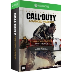 Game Call of Duty Advanced Warfare Golden Edition Xbox One  por R$ 50