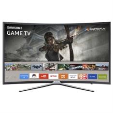 "Smart TV 40"" LED Full HD Tela Curva UN40K6500AGXZD WiFi, 2 USB, 3 HDMI, Gamefly, 60Hz Motion Rate, Smart View - Samsung | R$ 1813"