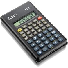 Calculadora Científica Elgin CC56 c/ 56 Funções - Preto - R$ 14,97