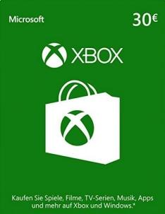 Cartão Pré-pago Xbox Live 30 EURO Código Digital apenas 81,51 BRL @SCDKey