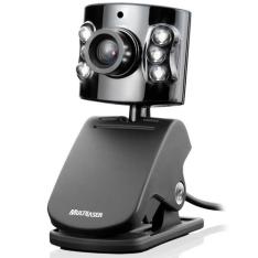 Webcam 5MP com Flash LED e Microfone Embutido WC040 MULTILASER