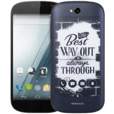 Yotaphone 2 5.0 polegadas 4G Smartphone  -  PRETO por R$ 395