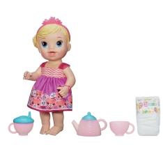 Boneca Baby Alive Hasbro Hora do Chá - Loira por R$ 120