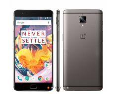 OnePlus 3T 4G Phablet  -  6GB RAM 64GB ROM  GRAY  por R$ 1517