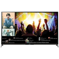 """Smart TV 3D 55"""" Sony KDL-55W955B Full HD 4 HDMI 3 USB Wi-Fi 480Hz + 2 Óculos 3D"""