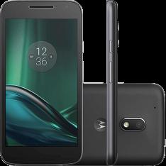 Smartphone Moto G 4 Play Dual Chip Android 6.0 Tela 5'' 16GB Câmera 8MP - Preto - R$692