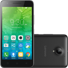 """Smartphone Lenovo Vibe C2 Dual Chip Android 6.0 Tela 5"""" 16GB 4G Câmera por R$ 450"""