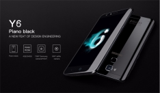 DOOGEE Y6 Black Piano -  Leitor Biométrico 4GB de RAM 64GB Octa Core 4G por R$ 453