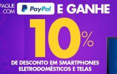 Pague com Paypal e tenha 10% de desconto