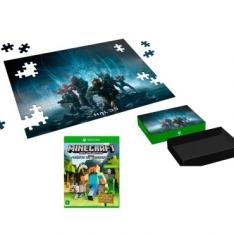 Jogo Minecraft: Edição Favorite Packs para Xbox One + Puzzle Halo 5 R$ 47,40