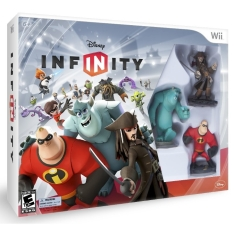 Disney Infinity 1.0 + 03 Bonecos - Nintendo Wii - R$ 69,90