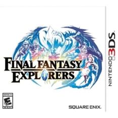 Final Fantasy Explorers - Nintendo 3DS R$ 80,64