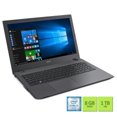 "Notebook Acer Aspire E5-574G-74U3 i7-6500U 16GB 1TB 15.6"" NVIDIA GeForce 920M 2GB Windows 10 - R$3.199"