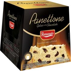 Panettone Romanato Gotas de Chocolate - 400g - R$ 8,99