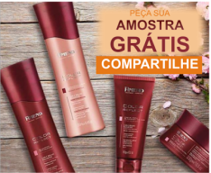 EXPERIMENTE AMOSTRAS GRÁTIS DOS PRODUTOS AMEND COSMÉTICOS