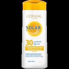 Protetor Solar Expertise Loção FPS 30 120ml - L'Oréal Paris - R$17