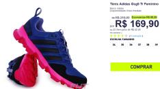 Tênis Adidas Gsg9 Tr Feminino - R$ 169,90