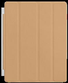 Capa Protetora Apple Smart Cover de Couro Bronze p/ iPad 2 por R$49