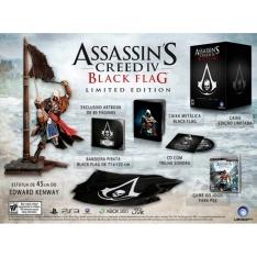 Assassin's Creed 4: Black Flag Collector Edition com Estátua de 45 cm - PS3 - R$ 199,90