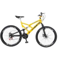 Bicicleta Colli Dupla Suspensão Aro 26 Fulls Gps, Freio A Disco, Masculino por R$ 569
