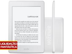"""Kindle Paperwhite Amazon Tela 6"""" 4GB Wi-Fi - Luz Embutida Branco  por R$ 360"""