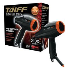 Secador de Cabelos Taiff Titanium Colors Motor AC Profissional - R$ 251,91