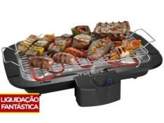 Churrasqueira Elétrica Cadence 1800W - Coletor de Gordura Tasty II - R$ 79,90