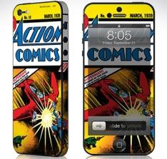 SKIN PARA IPHONE 5S SUPERMAN HQ por R$ 24,90