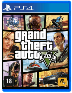 Grand Theft Auto V (PS4) - R$123
