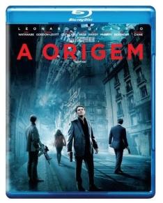 A Origem ( Inception ) - Blu-Ray - R$ 17,90