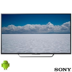Smart TV 4K Sony LED 55, 4K HDR, UpScalling e Wi-Fi - KD-55X7005D - R$ 3.749,13