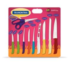 Conjunto de Facas Tramontina 10 peças Athus - R$ 39,00