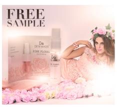 Perfume Pink Floral FREE