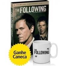The Following - A Primeira Temporada Completa - 4 DVDs + Caneca por R$ 30