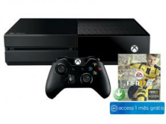 Xbox One 500gb + FIFA 17 + 1 mês de EA Access - R$1.349