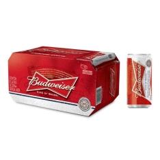Cerveja Budweiser Lata 269 ml Caixa com 08 Unidades - R$ 23,12